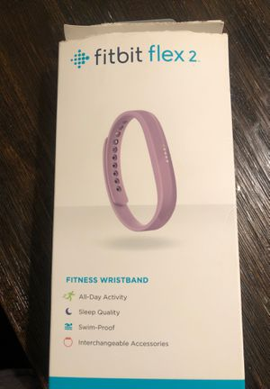 Fit bit flex 2 purple wristband and charger for Sale in Chula Vista, CA