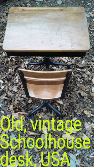 Vintage old schoolhouse desk in exceptional condition for Sale in Lebanon, TN