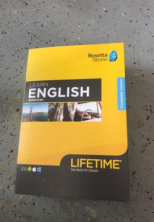 Rosetta Stone: Learn American English for Sale in Chino Hills, CA