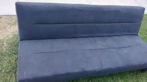 Black Futon Couch/Bed for Sale in Salt Lake City, UT