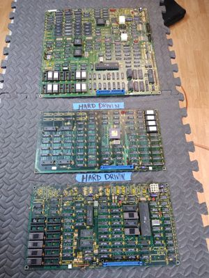 ATARI HARD DRIVIN ARCADE GAME PCB BOARD WORKS GREAT! for Sale in Bakersfield, CA