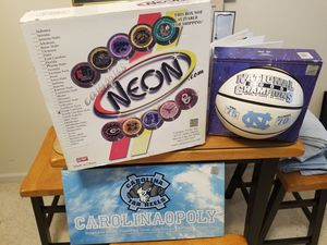 New, never been opened, UNC Tarheel men's basketball collectibles. for Sale in Morrisville, NC