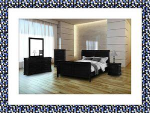 11pc black bedroom set free delivery for Sale in Rockville, MD