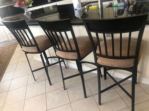 3 Stools for kitchen island table for Sale in Tracy, CA