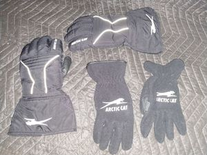 Arctic cat snowmobile gloves size large for Sale in Racine, WI