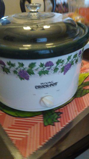 Rival crock pot for Sale in Dallas, TX