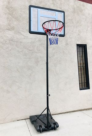"$65 NEW Junior Kids Sports Basketball Hoop 31x23"" Backboard, Adjustable Rim Height 5' to 7' for Sale in Montebello, CA"