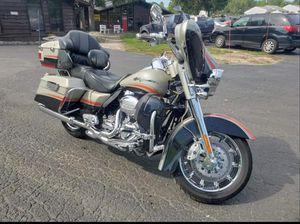 2009 Harley Davidson CVO Limited for Sale in Mount Morris, MI