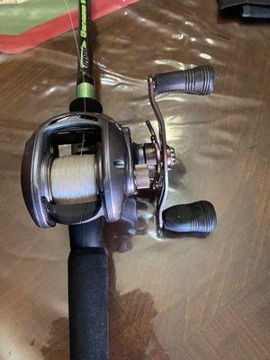 Dawia Lexa 300HS / IROD Genesis II Fishing Reel/Rod for Sale in Phoenix, AZ