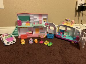 Shopkins toys car and camper for Sale in Highland, CA