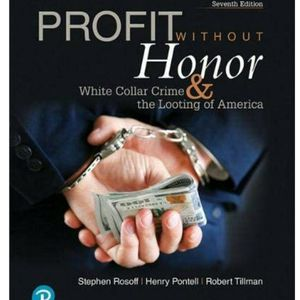 Profit Without Honor Book 7th Edition for Sale in Claremont, CA