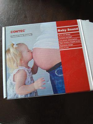 Contec baby Doppler in box for Sale in Traverse City, MI