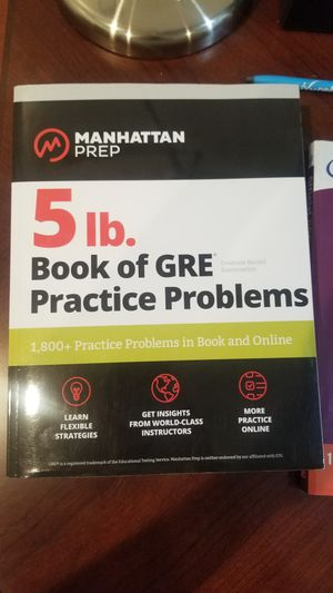5 lb GRE book. UNTOUCHED for Sale in Philadelphia, PA