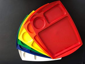Vintage Fremware Multicolor Trays for Sale in Midland, MI