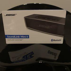 Bose soundlink Mini II Bluetooth Speaker for Sale in Pembroke Pines, FL