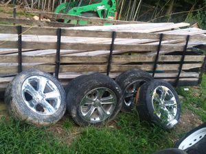 Dodge rims and tires for Sale in Mableton, GA