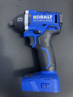 Kobalt 24v 1/4 inch impact drill for Sale in Milpitas, CA