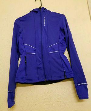 Brooks Equilibrium Technology purple Reflective full zip hoodie Jacket women's medium for Sale in Denver, CO