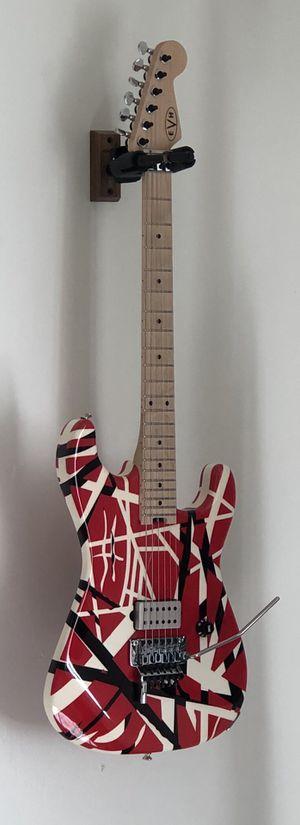 "EVH Frankenstrat Guitar w/ UPGRADED LOCKING TUNERS & Upgraded Pickup ( DiMarzio Jake Bowen "" Titan "" Bridge Pickup "" for Sale in San Marcos, CA"
