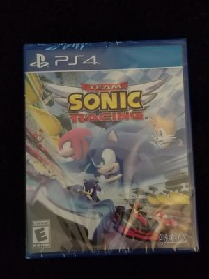 Sonic racing PS4 for Sale in Aurora, CO