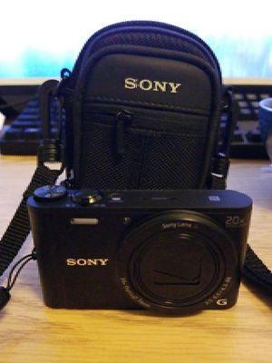Sony DSCWX350 18MP Digital Camera w/ extras for Sale in Portland, OR