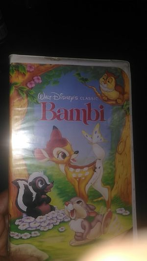 VHS classic Bambi tape for Sale in Phoenix, AZ