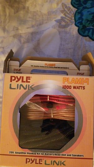 Pyle Link Car Audio Cable Wiring Kit for Sale in Las Vegas, NV