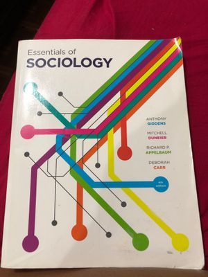 Essentials of sociology : 4th edition for Sale in Edgewater, NJ