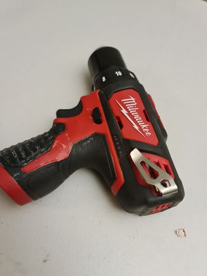 Milwaukee M12 12-Volt Lithium-Ion Cordless 3/8 in. Drill/Driver (Tool-Only for Sale in Snohomish, WA