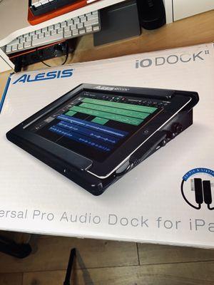 iPad audio interface Alesis io Dock II for Sale in La Verne, CA
