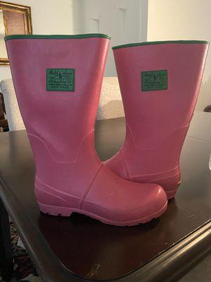 Pink POLO rain boots for Sale in Virginia Beach, VA