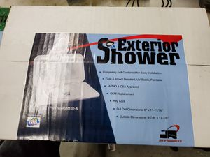 RV exterior shower assembly, white. for Sale in Seattle, WA