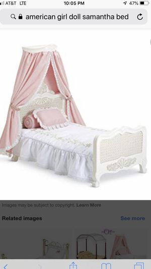 American Girl Doll Bed- Samantha's NEW IN BOX for Sale in Lorton, VA