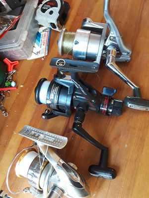 Fishing shimano spinning reels for Sale in Vancouver, WA