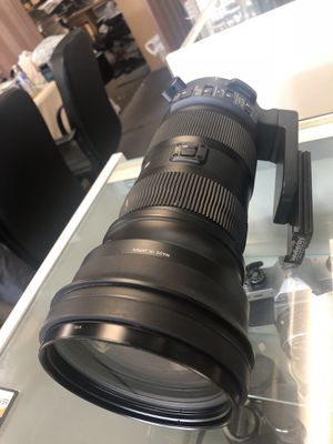 Sigma 150mm-600mm Nikon Mount Telephoto Lense for Sale in Houston, TX