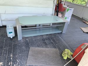 Tv stand gray for Sale in New Kensington, PA