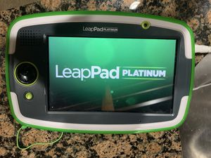 LEAPPAD PLATINUM, case, chargers & 7 games for Sale in Buckley, WA