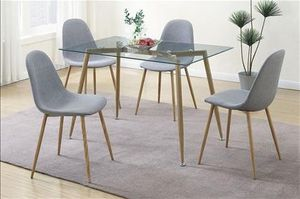 5pcs dining table set, table, chairs, for Sale in Los Angeles, CA