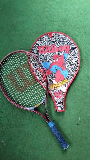 "Wilson ""Spider-Man edition"" Tennis Racket & Cover for Sale in Columbus, OH"