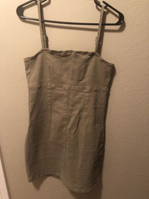 Green dress from cotton on for Sale in Corona, CA