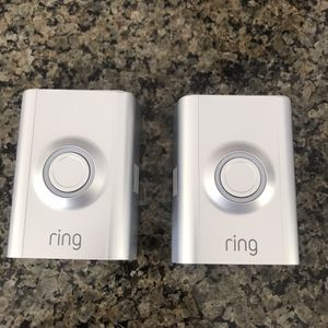 2 Silver Ring Door Bell Covers for Sale in St. Charles, IL