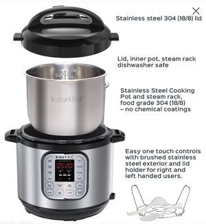 Instant Pot DUO80 7-in-1 8 Quart Pressure Cooker for Sale in Las Vegas, NV