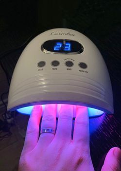 NEW Nail Polish Dryer Drying 60W UV Lamp Kills Germs 30 LED Gel UV Light Machine Manicure Spa Professional Pro Kit for Sale in Covina,  CA