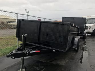 2019 Dump Trailer 8x10x2 for Sale in Paramount,  CA