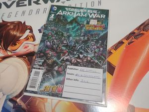 Forever Evil Arkham Wars Comics 2013 Complete Series for Sale in Lilburn, GA