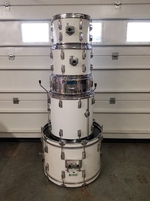 Vintage 1980's Drum Set with Extras! Trade? for Sale in Woodburn, OR