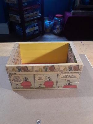 Comic trinket box for Sale in Wilder, KY
