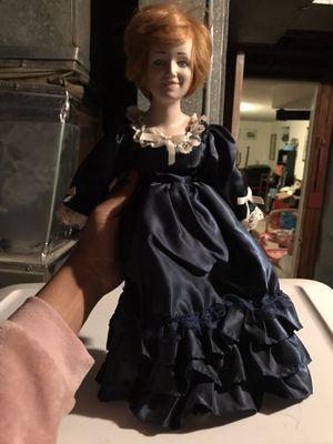 Vintage porcelain princess Diana doll for Sale in Alexandria, VA