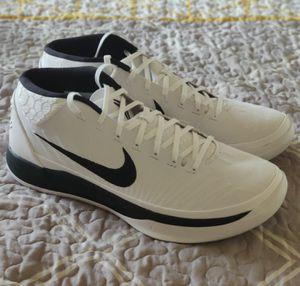 Nike Kobe AD Mid, Black/White, Size 12.5 for Sale in Corning, NY