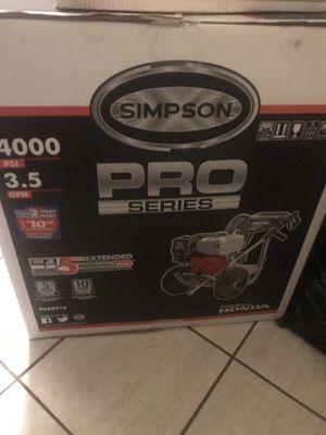 Simpson pro series pressure washer 4000psi for Sale in New Orleans, LA